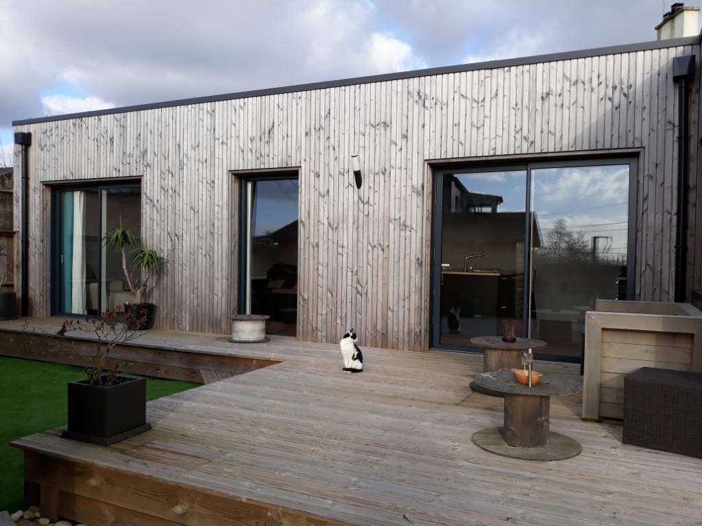 VENDUE PAR L' AGENCE Maison Année 30 avec extension bois